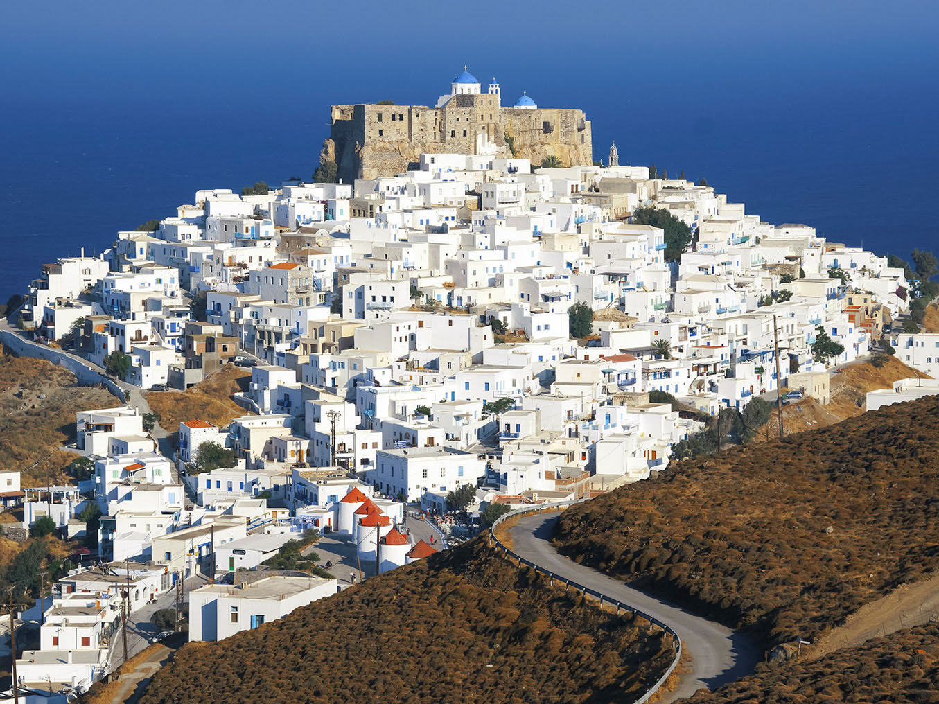 astypalaia   a beautiful island in the aegean sea